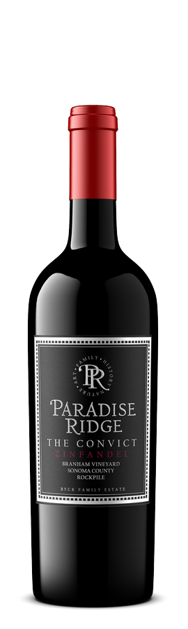 2015 Zinfandel, The Convict, Rockpile 14.2% 750ml