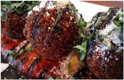 Arancini Stuffed with Braised Short Ribs