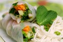 Vietnamese-Style Shrimp & Vegetable Rolls